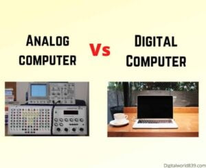 difference between analog and digital computer