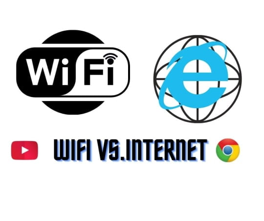 Wifi vs. Internet, Difference Between Explained.