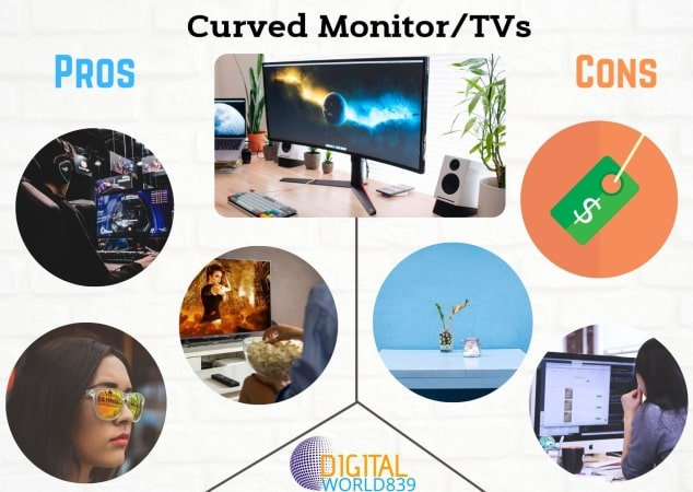 10+ Helpful Pros and Cons of Curved Monitor, (Overall Guide to Curved Monitor).