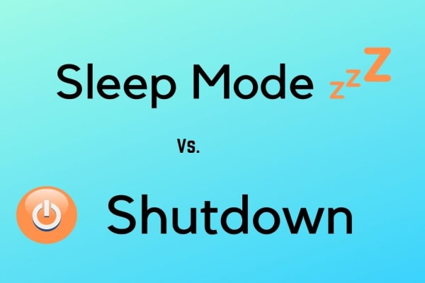 Advantages of sleep mode over shut down in Computers
