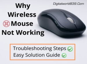 Dell Wireless Mouse Not Working