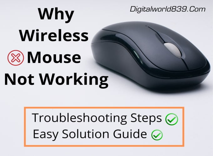 Dell Wireless Mouse Not Working » Easy Troubleshooting Guide
