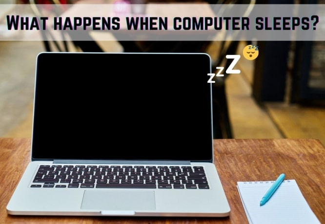 What happens when computer sleeps