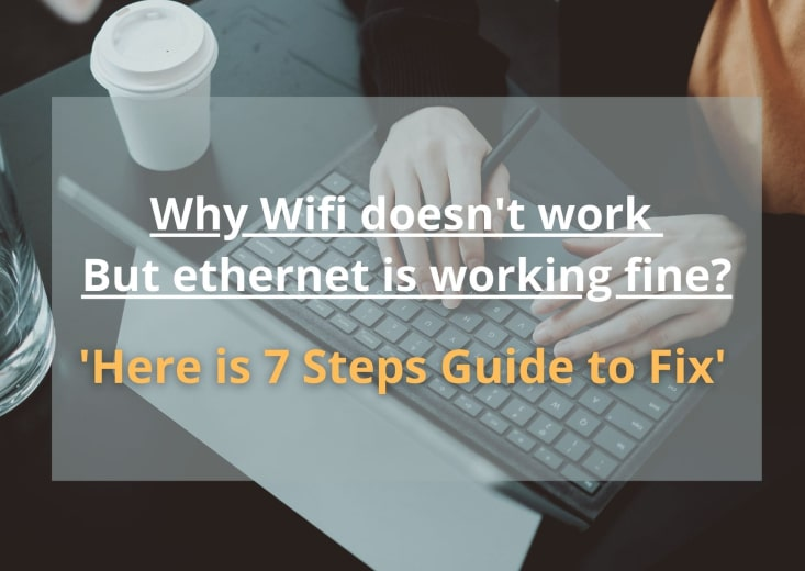 Why wifi not is working but ethernet is working