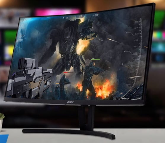 Curved Monitor are best suited for Gaming